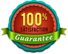 100% Satisfaction gurantee
